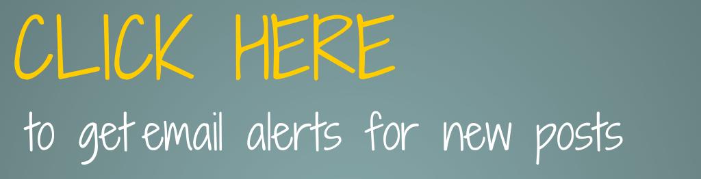 Blog Alerts